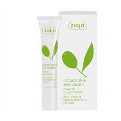 Натуральный оливковый крем для кожи вокруг глаз Ziaja Natural Olive Eye Cream