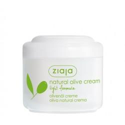Натуральный оливковый крем легкая формула Ziaja Natural Olive
