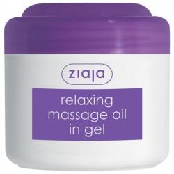 Релаксирующее гелевое массажное масло Ziaja