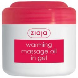 Согревающее гелевое массажное масло Ziaja