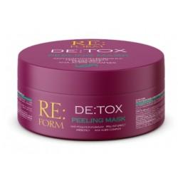 """RE:FORM Маска-пилинг """"DE:TOX"""" очищение и детоксикация волос 230 мл"""