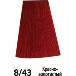 8/43 Красно-золотистый Siena Acme-Professional