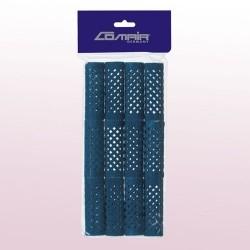 Бигуди Comair металлические длинные, синие, d 21 mm, (уп. 12 шт.)