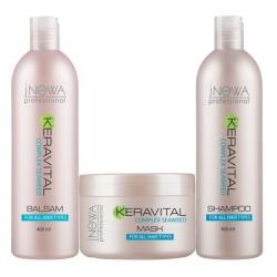 """Набор для всех типов волос KERAVITAL """"jNOWA Professional"""""""