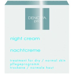 Ночной крем для сухой и нормальной кожи DENOVA PRO