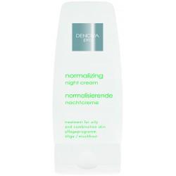 Нормализирующий ночной крем для жирной и комбинированной кожи DENOVA PRO